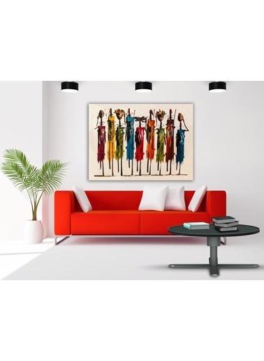 Chic Life Chic Life Dev Boyut Dekoratif Kanvas Tablo - 100x140cm Renkli